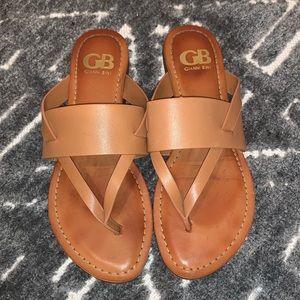 Gianni Bini Sandal - tan - size 7